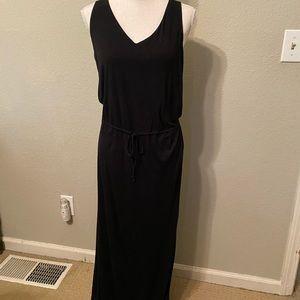 Banana Republic Black Maxi Dress size SM